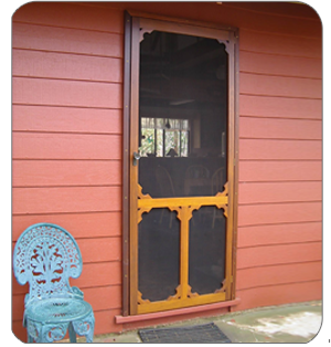 S&le of our tailor made fly screen doors. & Toodyay Woodworker - Home page
